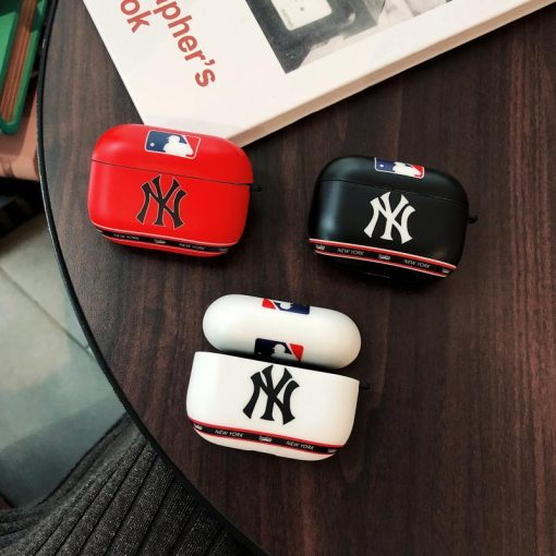 MLB Style Glossy Protective Case For Apple Airpods Pro - Casememe
