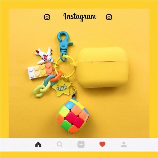 Lego Keychain Protective Case For Apple Airpods Pro - Casememe