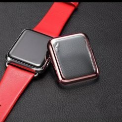 Electroplating Transparent Clear Compatible With Apple Watch Case 38mm 40mm 42mm 44mm For iWatch Series 4/3/2/1 - Casememe