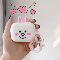 LINE Friends Style Soft Silicone Protective Case For Apple Airpods Pro - Casememe