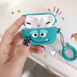 Monster University Style Silicone Protective Shockproof Case For Apple Airpods Pro - Casememe