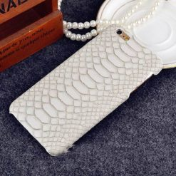 MORE COLORS Luxury Fashion Crocodile Leather Protective Designer iPhone Case For iPhone 5 5S SE 6 6S 7 8 Plus X XR XS Max Hard Plastic Protective Phone Back Cover Gift - Casememe