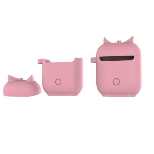 Cute Owl AirPods Silicone Shockproof Waterproof Protective Cover Case For Apple AirPods 1 & 2 - Casememe