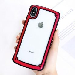 Military Standard Transparent Clear Ultimate Shockproof Airbag Corners Bumper Frame Case For iPhone X XS Max XR 8 7 Plus - Casememe