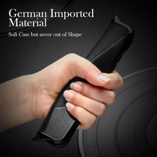 Best Military Grade Drop Tested Carbon Fiber Frame Silicone Shockproof iPhone Case For iPhone X XS XS Max XR - Casememe