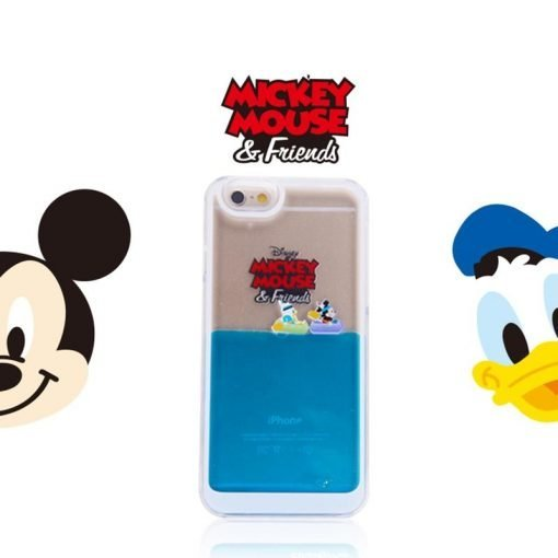 Monster Sea Liquid Sea Cute Micky Mouse Toy Story Quicksand Dynamic Transparent Silicone Designer iPhone Case For iPhone X XS XS Max XR - Casememe