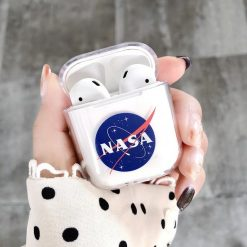 NASA Style Astronaut Space Clear Hard Protective Shockproof Case For Apple Airpods 1 & 2 - Casememe