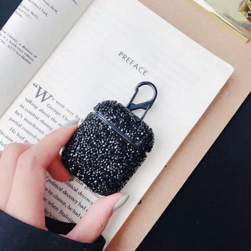 Sexy Bling Glitter Handmade Hard Protective Shockproof Case For Apple Airpods 1 & 2 - Casememe