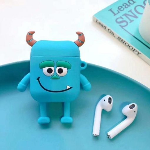 Monster University Minnie Mickey Silicone Protective Shockproof Case For Apple Airpods 1 & 2 - Casememe