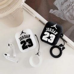 Jordan 23 Basketball Silicone Protective Shockproof Case For Apple Airpods 1 & 2 - Casememe