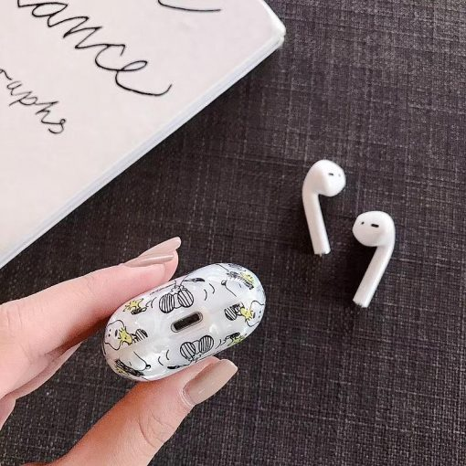 Snoopy Style Peanut Shell Hard Protective Shockproof Case For Apple Airpods 1 & 2 - Casememe